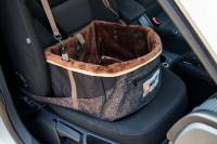 Autosedačka pro psy do auta CAMON WALKY pro pohodlné cestování a ochranu autosedadel před psími chlupy, nečistotami a poškozením. (FOTO 15)