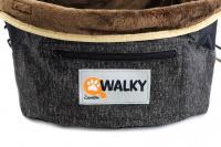 Autosedačka pro psy do auta CAMON WALKY pro pohodlné cestování a ochranu autosedadel před psími chlupy, nečistotami a poškozením. (7)