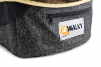 Autosedačka pro psy do auta CAMON WALKY pro pohodlné cestování a ochranu autosedadel před psími chlupy, nečistotami a poškozením. (8)