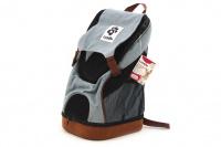 Batoh na psa s nosností 5 kg. Polstrovaná zadní strana, pevné skořepinové dno, vyjímatelná podložka. Barva modro-černá. (2)
