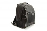 Černý batoh na psa s nosností 15 kg