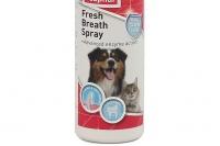 Beaphar Fresh Breath Spray pro psy i kočky představuje nejjednodušší cestu k čistým zubům, dásním a svěžímu dechu. Extra snadná aplikace (2).