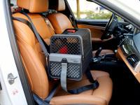 Certifikovaný BOX 4pets Penthouse Montreal pro přepravu malých psů v autě s unikátním dokovacím systémem a vyjímatelnou schránkou. Certifikace TÜV + crash testy, splňuje standardy IATA. (11)