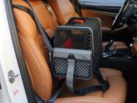 Certifikovaný BOX 4pets Penthouse Montreal pro přepravu malých psů v autě s unikátním dokovacím systémem a vyjímatelnou schránkou. Certifikace TÜV + crash testy, splňuje standardy IATA. (18)