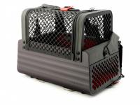 Certifikovaný BOX 4pets Penthouse Montreal pro přepravu malých psů v autě s unikátním dokovacím systémem a vyjímatelnou schránkou. Certifikace TÜV + crash testy, splňuje standardy IATA. (24)