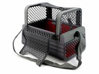 Certifikovaný BOX 4pets Penthouse Montreal pro přepravu malých psů v autě s unikátním dokovacím systémem a vyjímatelnou schránkou. Certifikace TÜV + crash testy, splňuje standardy IATA. (31)