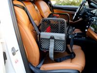 Certifikovaný BOX 4pets Penthouse Montreal pro přepravu malých psů v autě s unikátním dokovacím systémem a vyjímatelnou schránkou. Certifikace TÜV + crash testy, splňuje standardy IATA. (6)