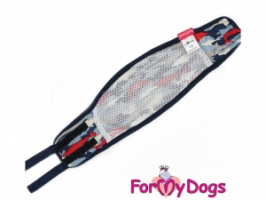 Hygienický pás pro psy, který znemožňuje značkování a páření (detail)