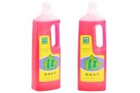 Účinný hygienický čistič podlah s obsahem dezinfekčních, dezodoračních a insekticidních složek. Neškodný pro domácí mazlíčky a lidi. Objem 1000 ml (2).