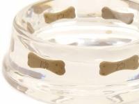 Luxusní, ručně vyráběná miska pro psy z polyresinu