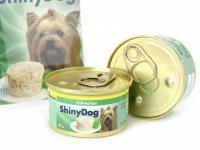 Výběrové konzervy pro psy bez umělých přísad a konzervantů. Jsou vyrobené z produktů nejvyšší kvality – maso pochází z farmového podestýlkového chovu, bez použití hormonů. Příchuť kuře. (3)