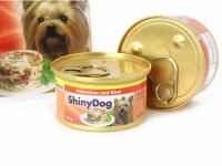 Výběrové konzervy pro psy bez umělých přísad a konzervantů. Jsou vyrobené z produktů nejvyšší kvality – kuřecí maso pochází z farmového podestýlkového chovu, bez použití hormonů. Příchuť kuře + hovězí. (2)