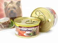 Výběrová konzerva pro psy bez umělých přísad a konzervantů. Je vyrobená z produktů nejvyšší kvality – kuřecí maso pochází z farmového podestýlkového chovu, bez použití hormonů. Příchuť kuře + jehně. (3)