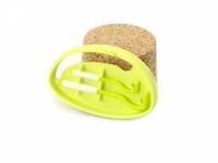 Funkční háčky na klíšťata v praktickém plastovém pouzdru s možností připnutí na batoh apod. Obsahuje dva háčky na malá i větší klíšťata. Výběr barev. (7)