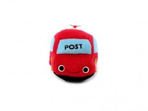 Roztomilá plyšová pískací hračka pro psy od URBAN PUP – červené auto (2)