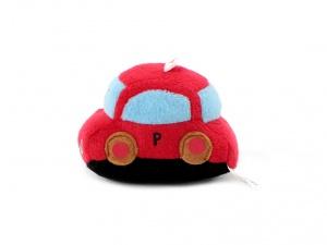 Roztomilá plyšová pískací hračka pro psy od URBAN PUP – červené auto (3)