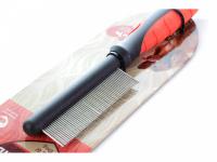 """Jemný hřeben pro psy COARSE zn. """"Soft Protection Salon"""". Pro rozčesávání srsti a stimulaci přirozené produkce kožního mazu. (3)"""