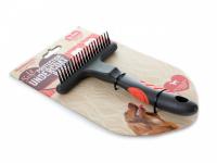 Hřeben pro psy od Soft Protection Salon z řady hřebenů, kartáčů a dalších nástrojů pro péči o srst vašich domácích mazlíčků. (3)