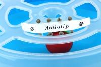 Interaktivní hračka pro kočky – disk s míčkem. Průměr disku 29 cm, výška 5 cm. (3)