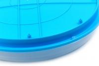 Interaktivní hračka pro kočky – disk s míčkem. Průměr disku 29 cm, výška 5 cm. (4)