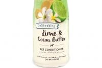 Kondicionér pro psy s kakaovým máslem a výtažkem z limetek účinně hydratuje a zjemňuje suchou a citlivou pokožku, usnadňuje rozčesávání a předchází zacuchávání srsti (4).