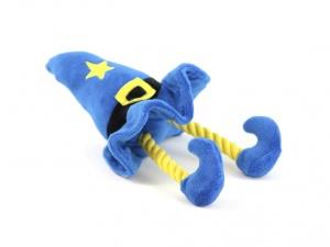 Pískací hračka pro psy od ROSEWOOD – plyšový kouzelnický klobouk (2)