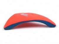 Létající talíř pro psy se speciálním prohnutým tvarem, díky kterému pomalu nabírá výšku (oranžový 2)