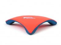 Létající talíř pro psy se speciálním prohnutým tvarem, díky kterému pomalu nabírá výšku (oranžový 4)