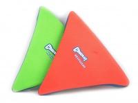 Létající talíř pro psy se speciálním prohnutým tvarem, díky kterému pomalu nabírá výšku (zelený 7)