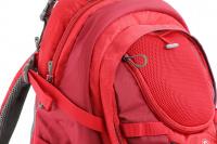 Luxusní a špičkově zpracovaný batoh na psa s nosností až 11 kg. Pevné skořepinové dno, odvětrávaný zádový panel, hrudní a bederní pásy pro ideální rozložení váhy. Barva šedo-červená. (9)