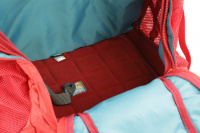Luxusní a špičkově zpracovaný batoh na psa s nosností až 11 kg. Pevné skořepinové dno, odvětrávaný zádový panel, hrudní a bederní pásy pro ideální rozložení váhy. Barva šedo-červená. (14)