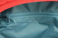 Luxusní a špičkově zpracovaný batoh na psa s nosností až 11 kg. Pevné skořepinové dno, odvětrávaný zádový panel, hrudní a bederní pásy pro ideální rozložení váhy. Barva šedo-červená. (15)