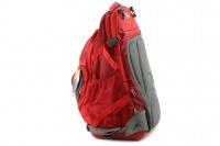Luxusní a špičkově zpracovaný batoh na psa s nosností až 11 kg. Pevné skořepinové dno, odvětrávaný zádový panel, hrudní a bederní pásy pro ideální rozložení váhy. Barva šedo-červená. (16)