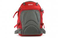 Luxusní a špičkově zpracovaný batoh na psa s nosností až 11 kg. Pevné skořepinové dno, odvětrávaný zádový panel, hrudní a bederní pásy pro ideální rozložení váhy. Barva šedo-červená. (17)