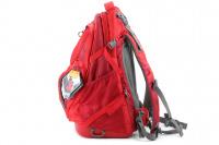 Luxusní a špičkově zpracovaný batoh na psa s nosností až 11 kg. Pevné skořepinové dno, odvětrávaný zádový panel, hrudní a bederní pásy pro ideální rozložení váhy. Barva šedo-červená. (3)