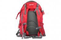 Luxusní a špičkově zpracovaný batoh na psa s nosností až 11 kg. Pevné skořepinové dno, odvětrávaný zádový panel, hrudní a bederní pásy pro ideální rozložení váhy. Barva šedo-červená. (5)