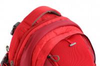 Luxusní a špičkově zpracovaný batoh na psa s nosností až 11 kg. Pevné skořepinové dno, odvětrávaný zádový panel, hrudní a bederní pásy pro ideální rozložení váhy. Barva šedo-červená. (8)