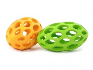 Gumová hračka pro všechny velikosti psů i pro štěňata, zelená (3)