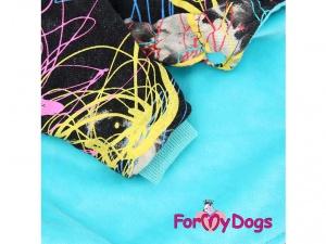 Obleček pro psy i fenky – mikina Multicolor, detail