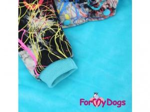 Obleček pro střední a větší psy i fenky – multicolor mikina (3)
