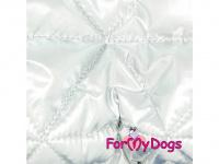 Obleček pro psy – teplý zimní overal SILVER BLUE od For My Dogs z voduodpuzujícího materiálu. Kožešinová podšívka, zateplený sinteponem. (6)