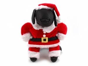 Santa obleček pro psy, zepředu