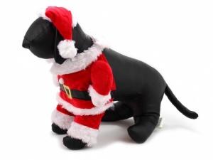 Santa obleček pro psy, z pravé strany