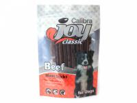 Pamlsky pro psy z hovězího masa s nízkým obsahem tuku a vysokým podílem kvalitních bílkovin. Hmotnost 80 g.