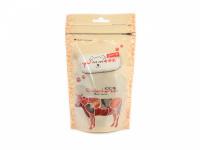 Vynikající pamlsky pro psy – sušená hovězí srdíčka. Pamlsky jsou sušené mrazem pro intenzivní chuť a zachování živin. Vhodné i pro psy s alergiemi.