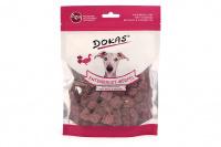 Vynikající pamlsky pro psy – kachní kostky s cizrnou a červenou řepou. Pamlsky jsou sušené mrazem pro intenzivní chuť a zachování živin.