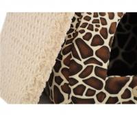 Heboučký uzavřený pelíšek z kolekce luxusních pelechů pro psy, kočky, štěňata a koťata z nejkvalitnějších materiálů. (6)