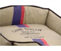 Luxusní pelech pro psy v originálním retro designu BOBBY. Vyjímatelný pohodlný polštář, možnost praní v pračce. (5)