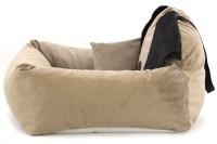 Autosedačka pro psy – pelíšek pro pohodlné cestování a ochranu autosedadel před psími chlupy, nečistotami a poškozením. (5)