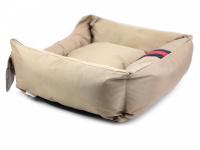 Pelíšek pro psy Rosewood Gold Water Resistant pro malé, střední i velké psy. Bohatě vycpané bočnice, snížená přední strana, voděodolný. Výběr velikostí. (3)